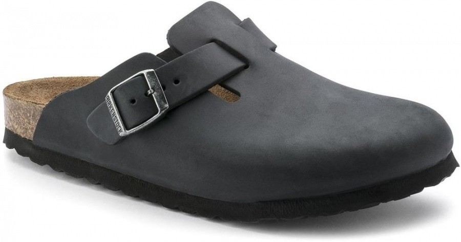 Birkenstock Boston Oiled Leather Birkenstock Boston Oiled Leather Farbe / color: black ()