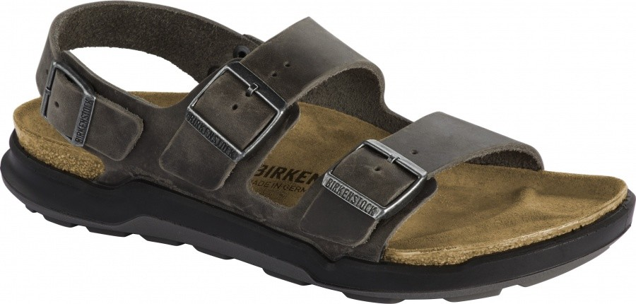 Birkenstock Milano CT Oiled Leather Birkenstock Milano CT Oiled Leather Farbe / color: iron ()