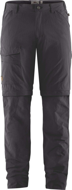 Fjällräven Travellers MT Zip Off Trousers Men Fjällräven Travellers MT Zip Off Trousers Men Farbe / color: dark grey ()
