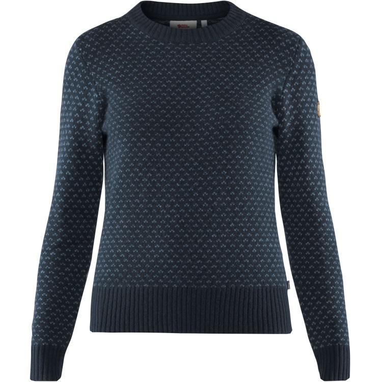 Fjällräven Övik Nordic Sweater Women Fjällräven Övik Nordic Sweater Women Farbe / color: dark navy ()