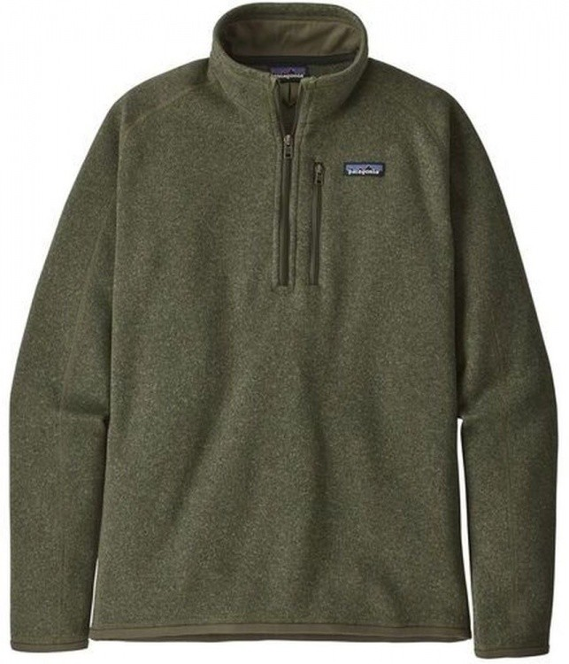 Patagonia Better Sweater 1/4-Zip Patagonia Better Sweater 1/4-Zip Farbe / color: industrial green ()