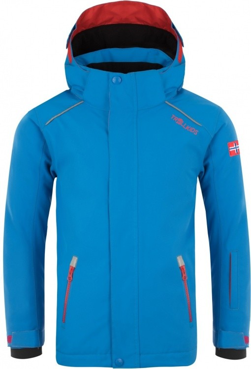 Trollkids Kids Holmenkollen Snow Jacket Pro Trollkids Kids Holmenkollen Snow Jacket Pro Farbe / color: med blue/red ()