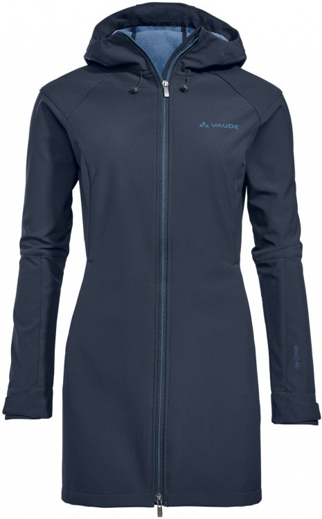 VAUDE Womens Skomer Softshell Coat VAUDE Womens Skomer Softshell Coat Farbe / color: eclipse ()