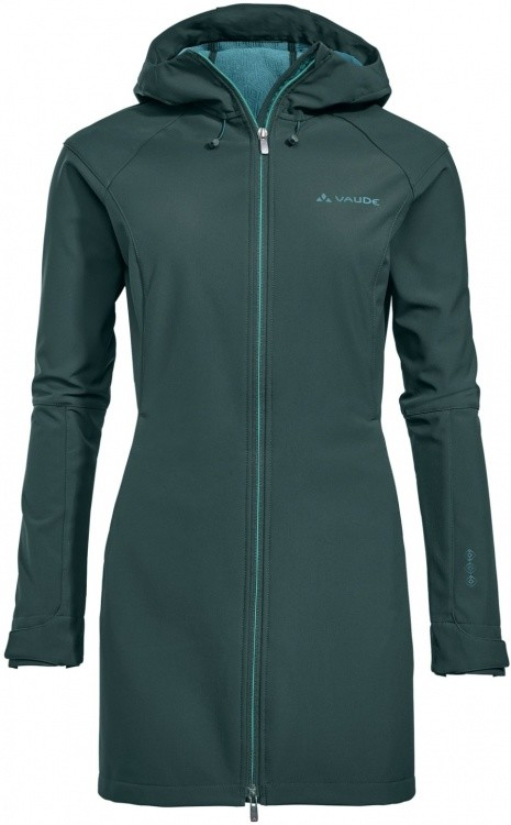 VAUDE Womens Skomer Softshell Coat VAUDE Womens Skomer Softshell Coat Farbe / color: quarz ()