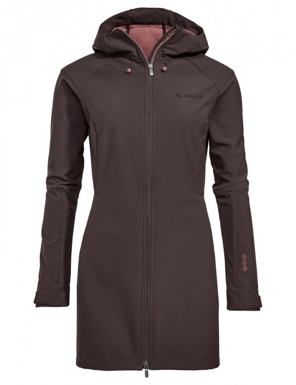 VAUDE Womens Skomer Softshell Coat VAUDE Womens Skomer Softshell Coat Farbe / color: pecan brown ()