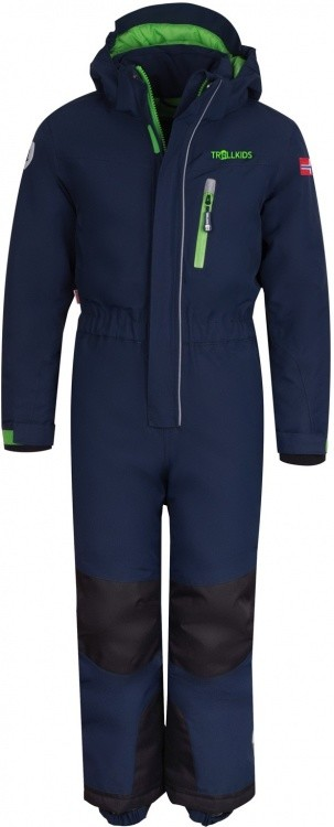 Trollkids Kids Isfjord Snowsuit Trollkids Kids Isfjord Snowsuit Farbe / color: navy/green ()