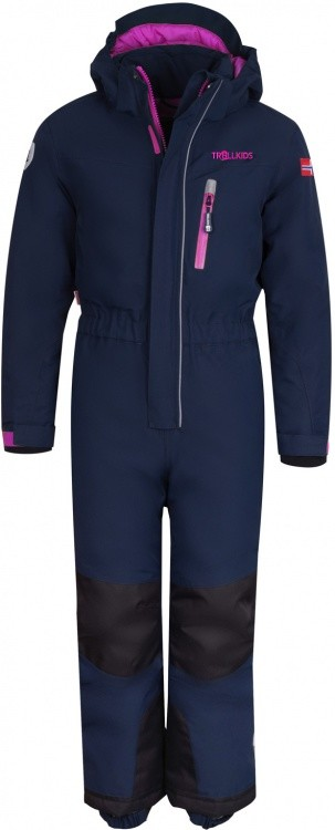 Trollkids Kids Isfjord Snowsuit Trollkids Kids Isfjord Snowsuit Farbe / color: navy/magenta ()