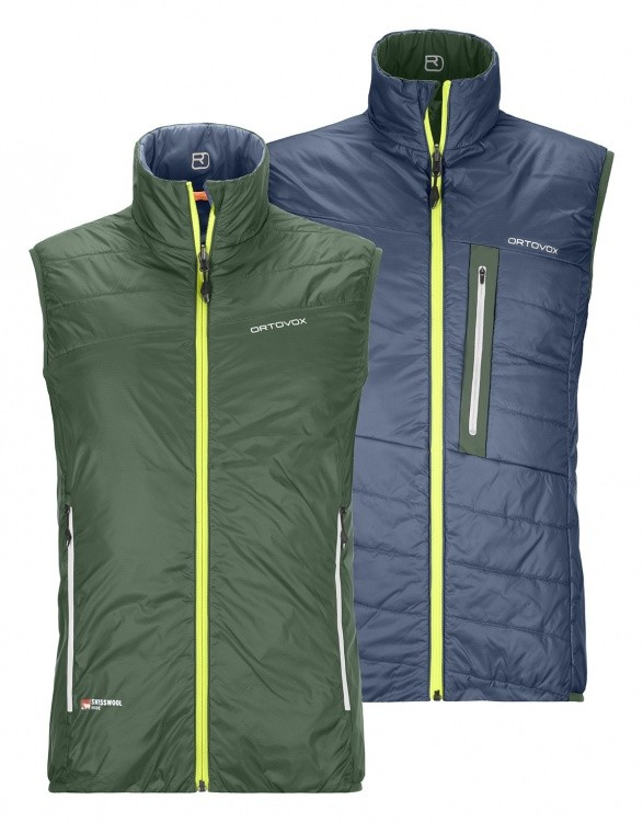 Ortovox Swisswool Light Piz Cartas Vest Ortovox Swisswool Light Piz Cartas Vest Farbe / color: green forest ()