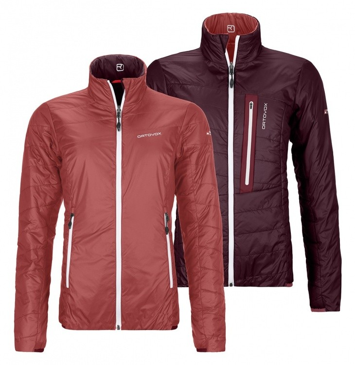 Ortovox Swisswool Light Piz Bial Jacket Women Ortovox Swisswool Light Piz Bial Jacket Women Farbe / color: blush ()
