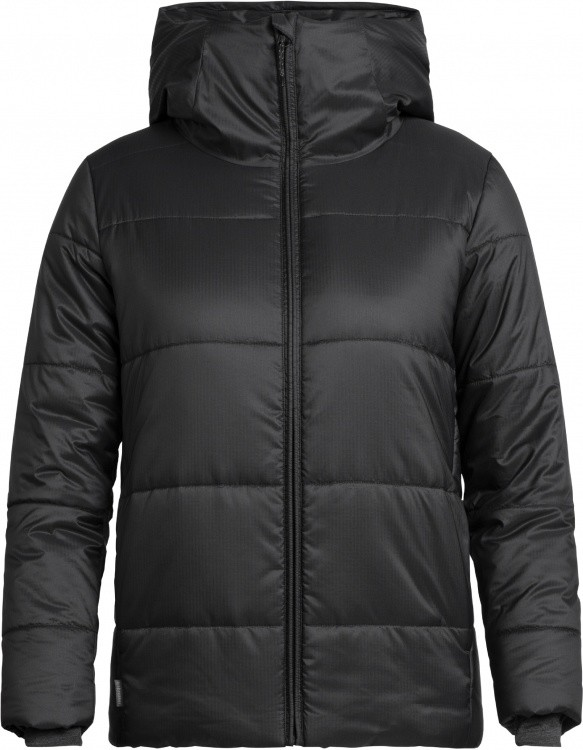 Icebreaker Womens Collingwood Hooded Jacket Icebreaker Womens Collingwood Hooded Jacket Farbe / color: black ()