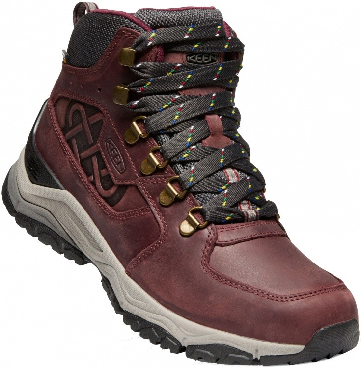 Keen Women Innate Leather Mid WP LTD Keen Women Innate Leather Mid WP LTD Farbe / color: burgundy/shark ()