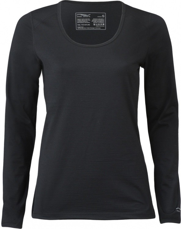 Engel Sports Damen Shirt Langarm Regular Fit 200g Engel Sports Damen Shirt Langarm Regular Fit 200g Farbe / color: black ()