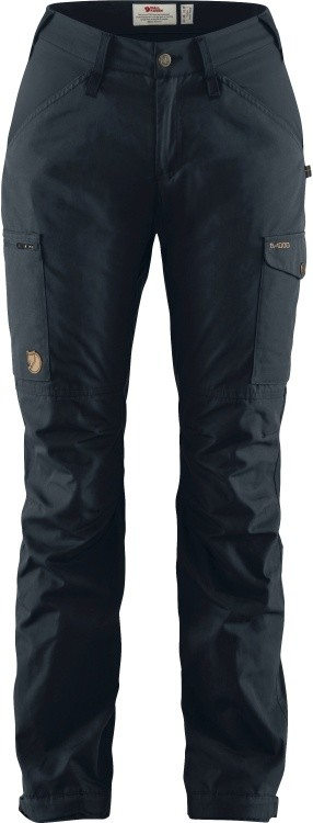 Fjällräven Kaipak Trousers Curved Women Fjällräven Kaipak Trousers Curved Women Farbe / color: dark navy ()