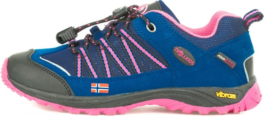 Trollkids Kids Lofoten Hiker Low Trollkids Kids Lofoten Hiker Low Farbe / color: blue/magenta ()