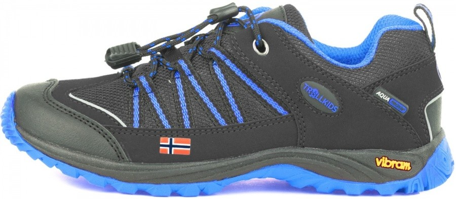 Trollkids Kids Lofoten Hiker Low Trollkids Kids Lofoten Hiker Low Farbe / color: anthracite/med blue ()