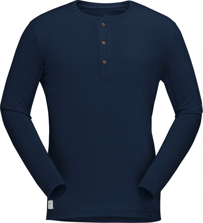 Norrona Svalbard Grandpa Shirt Men Norrona Svalbard Grandpa Shirt Men Farbe / color: indigo night ()