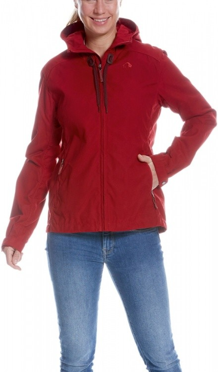 Tatonka Vinjo Womens Hooded Jacket Tatonka Vinjo Womens Hooded Jacket Farbe / color: lava red ()