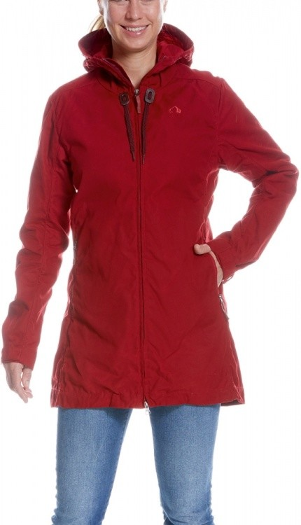 Tatonka Vinjo Womens Hooded Coat Tatonka Vinjo Womens Hooded Coat Farbe / color: lava red ()