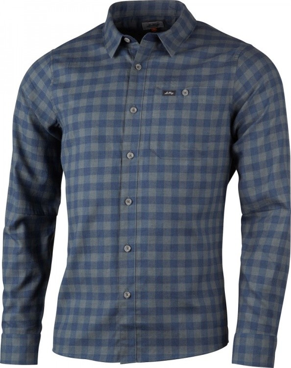Lundhags Ekren LS Shirt Lundhags Ekren LS Shirt Farbe / color: deep blue ()
