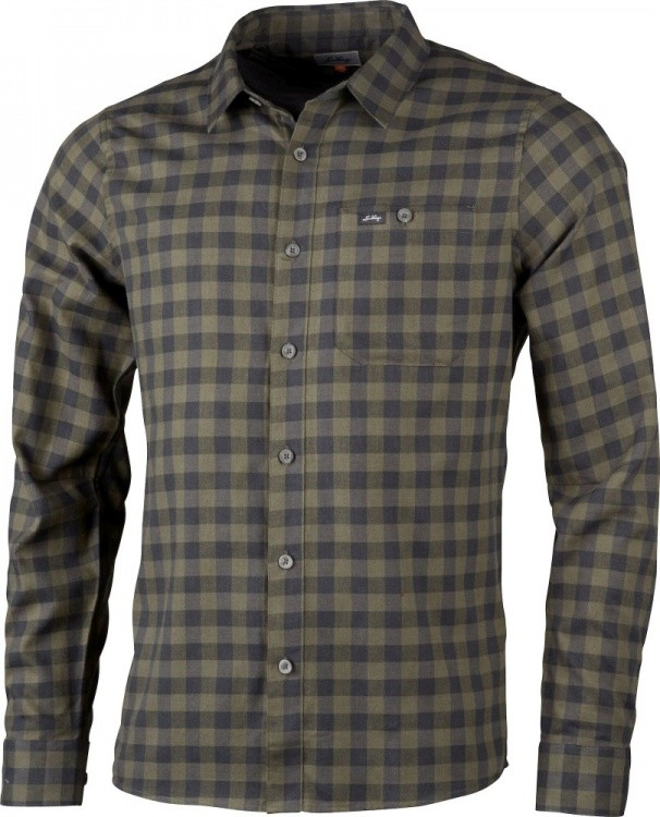 Lundhags Ekren LS Shirt Lundhags Ekren LS Shirt Farbe / color: forest green ()