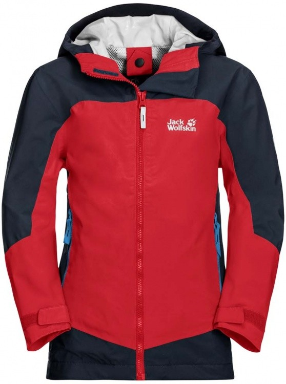Jack Wolfskin Ropi Jacket Boys Jack Wolfskin Ropi Jacket Boys Farbe / color: peak red ()