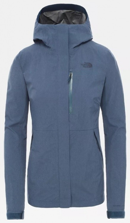 The North Face Womens Dryzzle FutureLight Jacket The North Face Womens Dryzzle FutureLight Jacket Farbe / color: blue wing teal heather ()