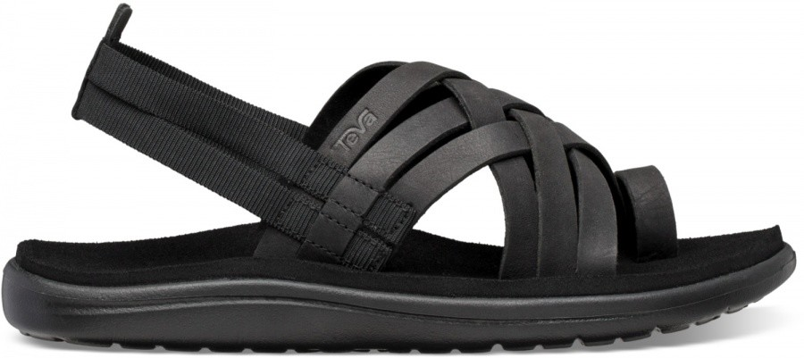Teva Voya Strappy Leather Women Teva Voya Strappy Leather Women Farbe / color: black ()