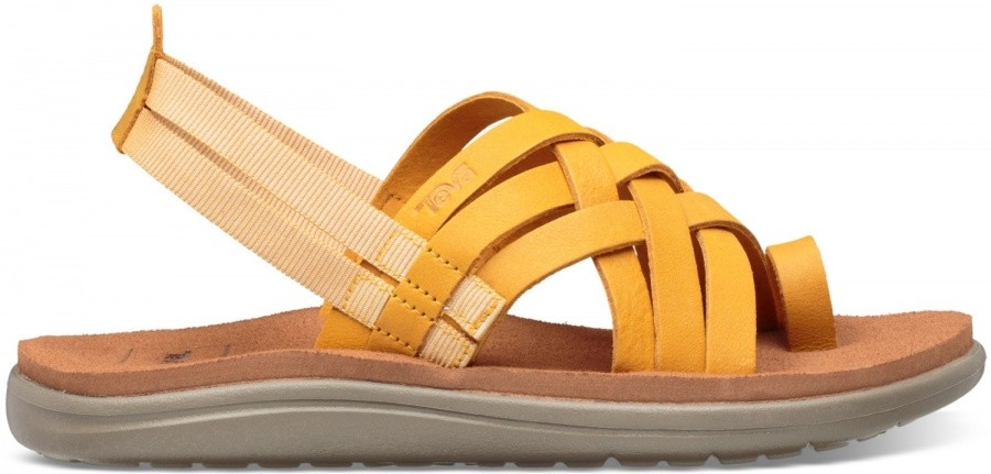 Teva Voya Strappy Leather Women Teva Voya Strappy Leather Women Farbe / color: sunflower ()