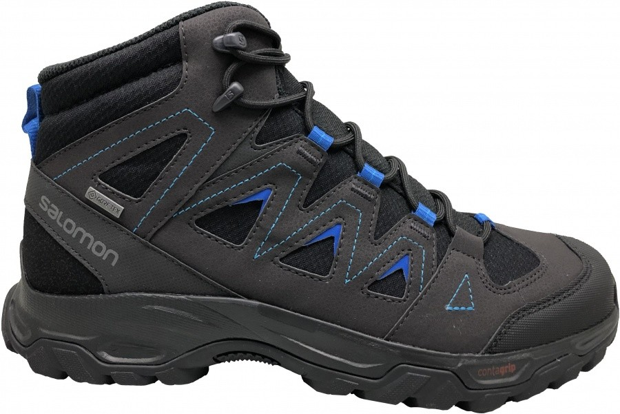 Salomon Lyngen Mid GTX Salomon Lyngen Mid GTX Farbe / color: black/phantom/lapis ()