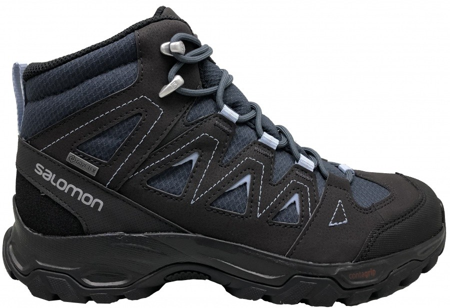Salomon Lyngen Mid GTX Women Salomon Lyngen Mid GTX Women Farbe / color: india ink/phantom/forever blue ()