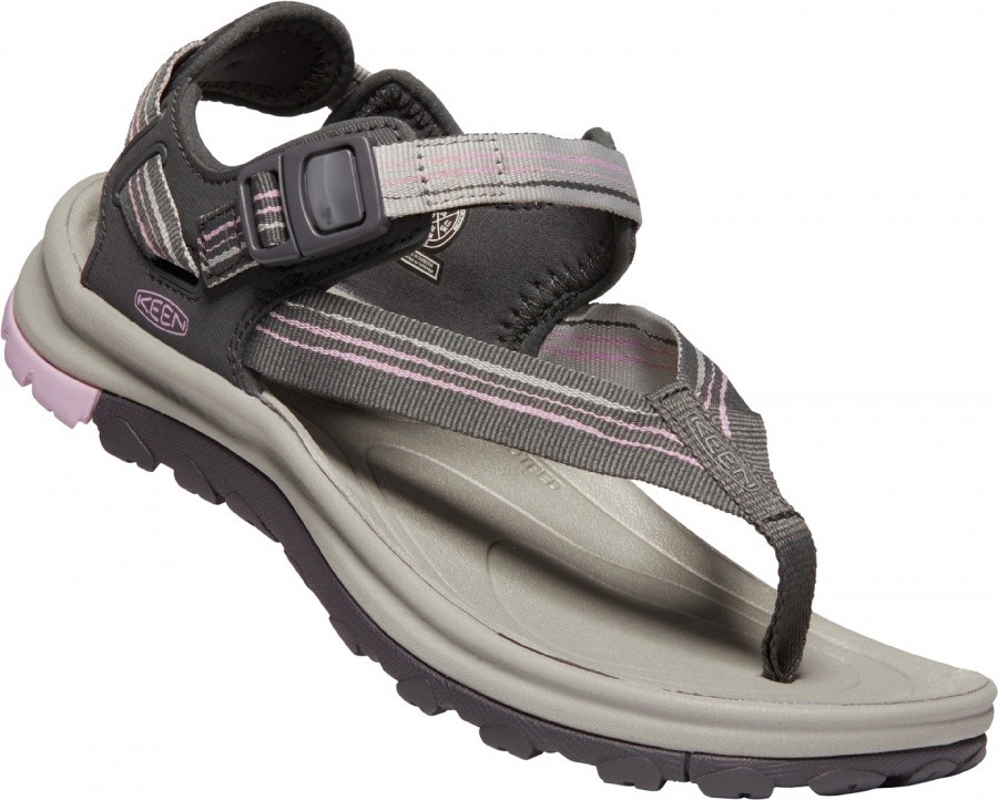 Keen Women Terradora II Toe Post Keen Women Terradora II Toe Post Farbe / color: dark grey/dawn pink ()