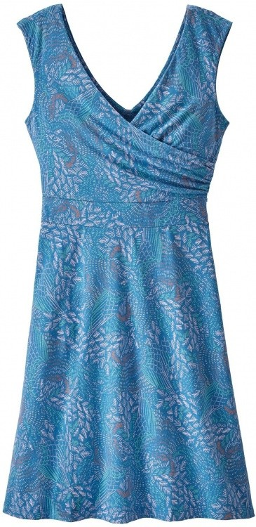 Patagonia Womens Porch Song Dress Patagonia Womens Porch Song Dress Farbe / color: swift feather/port blue ()