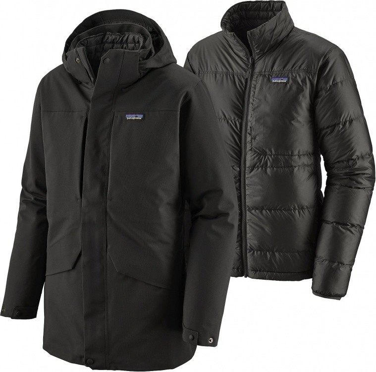 Patagonia Mens Tres 3-in-1 Parka Patagonia Mens Tres 3-in-1 Parka Farbe / color: black ()