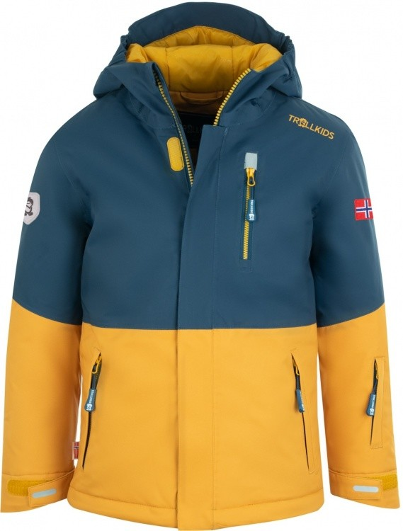 Trollkids Kids Hallingdal Jacket Trollkids Kids Hallingdal Jacket Farbe / color: mystic blue/golden yellow ()