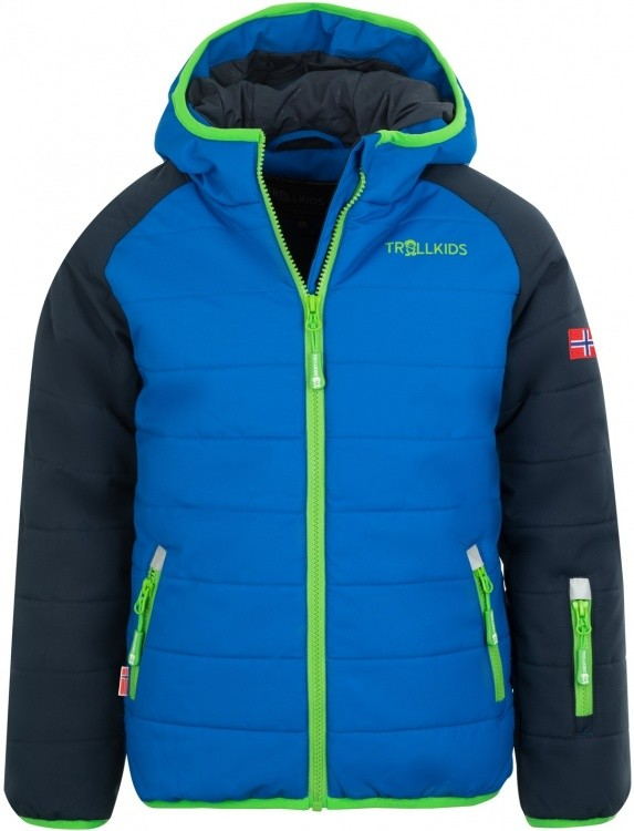 Trollkids Kids Hafjell Snow Jacket Pro Trollkids Kids Hafjell Snow Jacket Pro Farbe / color: navy/med blue/green ()