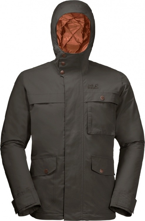 Jack Wolfskin Wildwood Jacket Men Jack Wolfskin Wildwood Jacket Men Farbe / color: brownstone ()