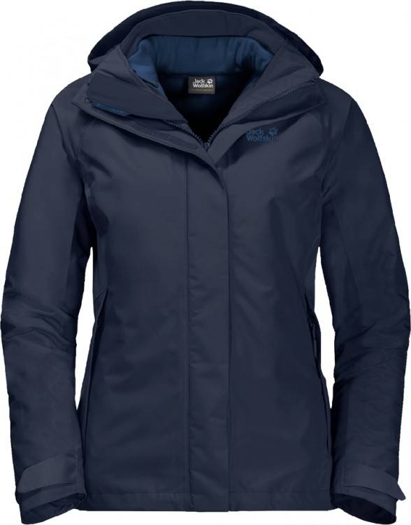 Jack Wolfskin Iceland Voyage 3in1 Women Jack Wolfskin Iceland Voyage 3in1 Women Farbe / color: midnight blue ()