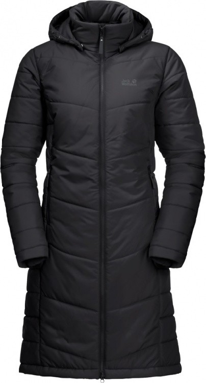 Jack Wolfskin North York Coat Women Jack Wolfskin North York Coat Women Farbe / color: black ()