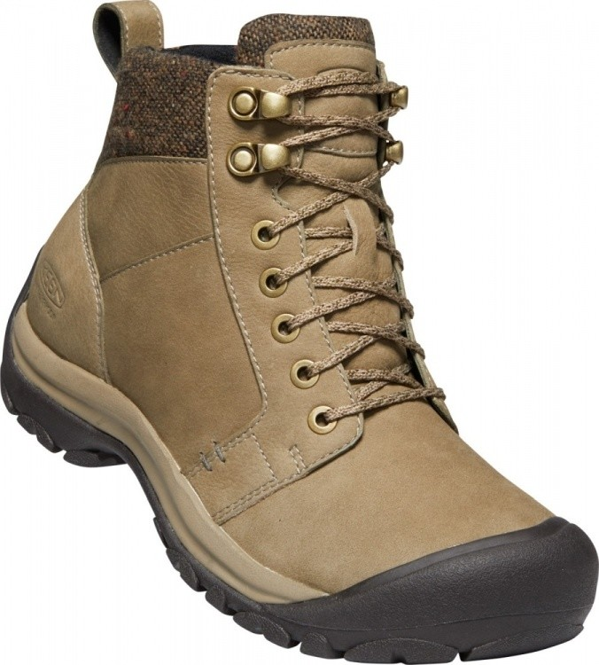 Keen Womens Kaci II Winter Mid WP Keen Womens Kaci II Winter Mid WP Farbe / color: timberwolf/brindle ()