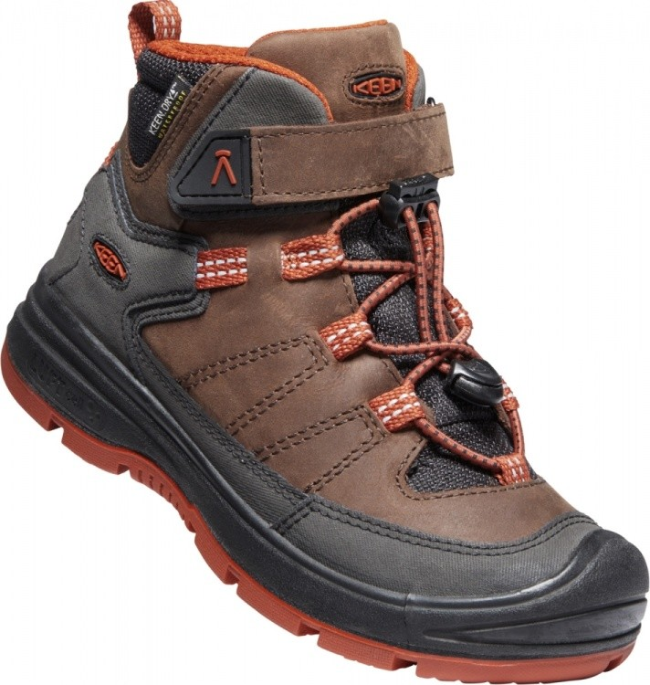 Keen Kids Redwood Mid WP Keen Kids Redwood Mid WP Farbe / color: coffee bean/picante ()