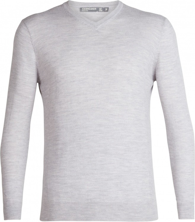 Icebreaker Mens Shearer V Sweater Icebreaker Mens Shearer V Sweater Farbe / color: steel hthr ()