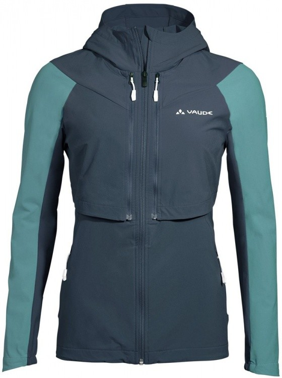 VAUDE Womens Moab ZO Jacket VAUDE Womens Moab ZO Jacket Farbe / color: steelblue ()