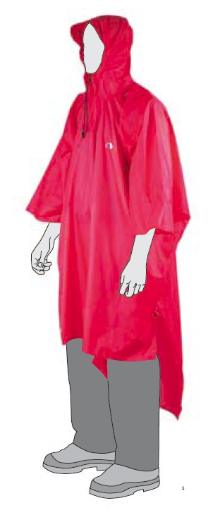 Tatonka Poncho Tatonka Poncho Farbe / color: red ()