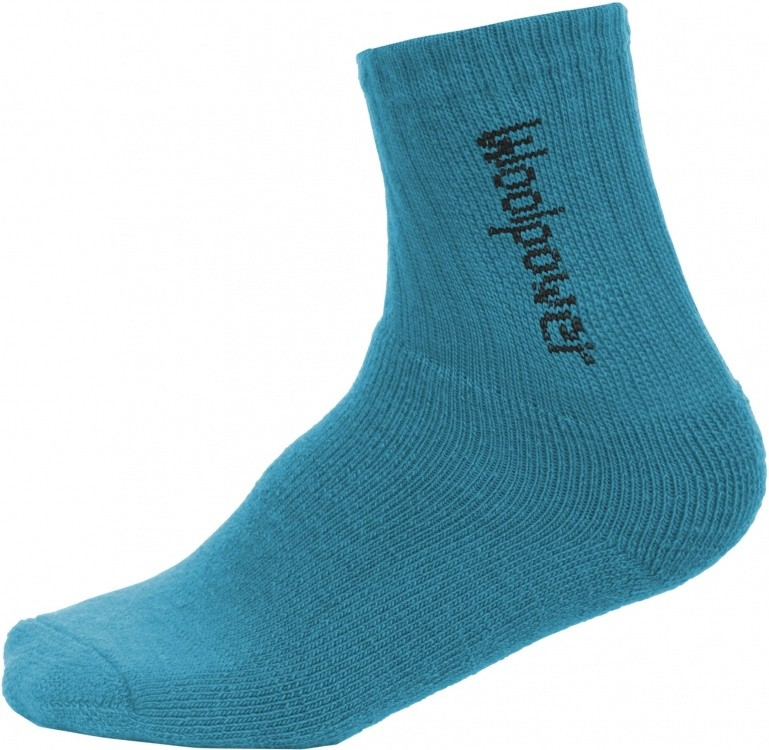 Woolpower Kids Socks Logo 400 Woolpower Kids Socks Logo 400 Farbe / color: dolphin blue ()