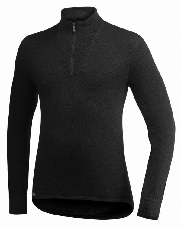 Woolpower Zip Turtleneck 400 Woolpower Zip Turtleneck 400 Farbe / color: schwarz ()