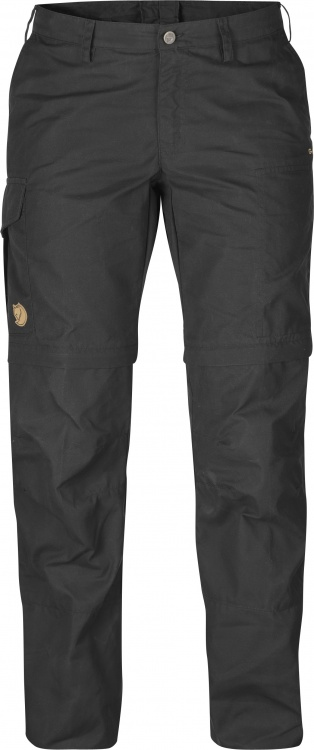 Fjällräven Karla Zip Off Trousers Women Fjällräven Karla Zip Off Trousers Women Farbe / color: dark grey ()