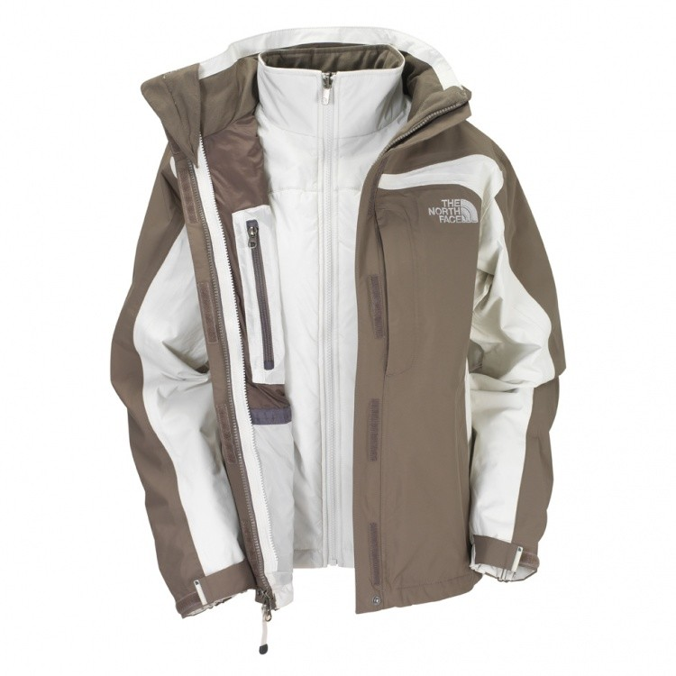 The North Face The North Face Amplitude Triclimate Jacket Women The North Face The North Face Amplitude Triclimate Jacket Women Farbe / color: weimaraner brown/moonlight ivory ()