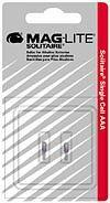Maglite Mag-Lite Ersatzbirnen Solitaire , 2er Set