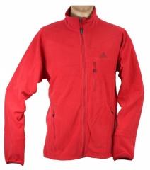 Adidas Hiking Fleece Jacket real red - Größe 46 Herren