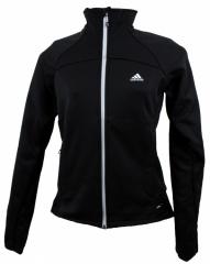 Adidas Womens HT 1sd Fleece Jacket black - Größe 44 Damen
